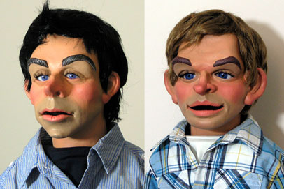 Phil Eason Puppets - illustration