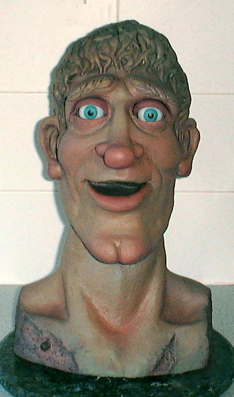 Phil Eason Puppeteer -  puppet